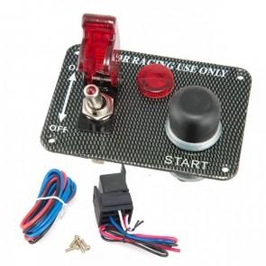 Painel Eletrônico Racing com Botão Tipo Caça e Botão Start Epman