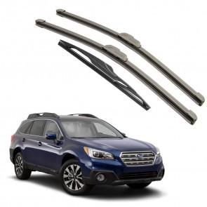 Kit Palhetas Dianteira e Traseira para Subaru Outback 2015 A Atual
