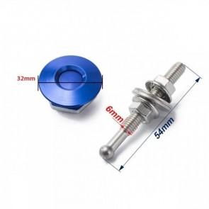 Trava Tipo Pin Hood Haste Pequena (54mm) Trava Grande (32mm) Esportiva Universal Epman - Azul