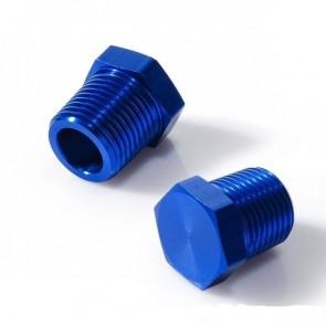 """Tampão Rosca 3/4"""" NPT - Azul"""