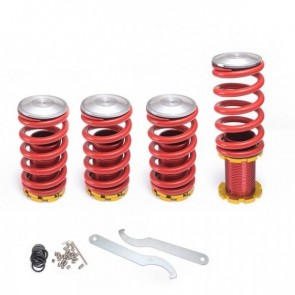 Kit de Molas Reguláveis Esportiva Coilover Racing Street Para Honda Civic 02-06 Epman