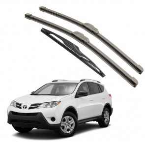 Kit Palhetas Dianteira e Traseira para Toyota Rav4 Ano 2014 A Atual