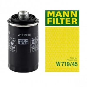 Filtro de Óleo W719/45 (Linha VW) EA888 200cv GEN I e II Compatível com PH10600 - MANN